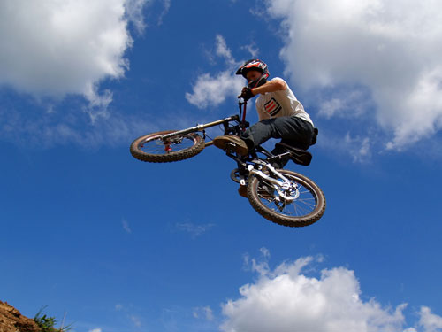 Bikes Jumping Dirt Jumping Mountain Biking